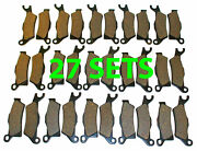 27 Sets 2012 Can-am Outlander 1000 Front And Rear Brakes Brake Pads