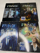 Fringe Dvd - The Complete First Second Third And Fourth Seasons 1 - 4 2-4 New