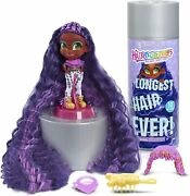 Hairdorables Longest Hair Ever Kali With 8 Surprises And 10 Of Hair - Purple