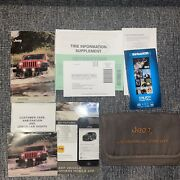 2016 Jeep Wrangler Owners Manual Dvd Uconnect Navigation Oem Rubicon 3.6l 4x4 A+