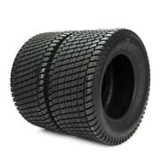 2x 16x6.50-8 Turf Tires Tubeless Tractor Millionparts Rim Width5.375in Ply 4