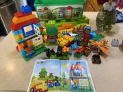 Lego Duplo Toddler Building Set 10572 All In One Box Of Fun Plus Extras