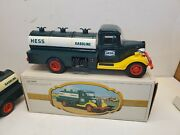Lot 2 Vintage 1982 Hess The First Hess Toy Truck Tanker Truck In Original Box