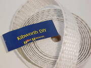 5 Metres 1 1/4 32mm Kindler Wick Aga Rayburn Oil Burning Stove Wire Reinforced