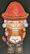 Nutcracker Soldier – Hand Carved And Painted Wooden Russian Statue 2677