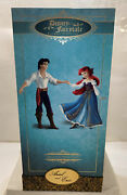 Disney Fairytale Designer Ariel And Eric Le 475/6000 New / Never Opened W/gift Bag