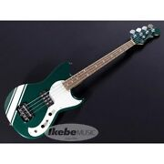 Gandl Limited Fallout Bass British Racing Green With White Stripe Hpb514