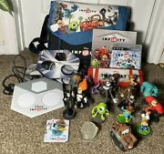 Disney Infinity Lot Bundle Ps3 Game, Portals, Figures, Power Discs, Cards And More