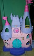 Fisher-price 2012 Little People Disney Princess Songs Palace/castle 5 Figures +
