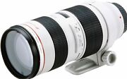 Canon Telephoto Zoom Lens Ef70-200mm F2.8l Usm Full Size Compatible