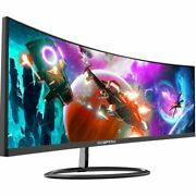 Wide Screen Monitor 30 Gaming Led Curved Anti-flicker Edgeless Blue Light Ultra
