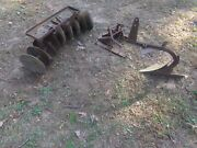 Sears Suburban 3 Point Hitch One Bottom Plow And Disc