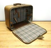 Pfaff Genuine Vintage Zippered Carrying Case For 332 Sewing Machine Brown