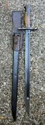 Very Fine Wwii Japanese Type 30 Arisaka Bayonet With Frog And Sheath Sword
