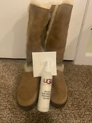Uggs Boots Women's Size 8 Medium Brown Suede New In Box