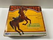 Marx Best Of The West Comanche Horse Jointed Poseable W/ Box