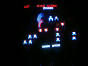 Galaga Arcade Coin Operated Game By Williams