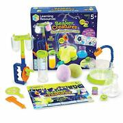 Learning Resources Beaker Creatures Monsterglow Lab Science Exploration Slime...