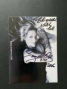 Samantha Fox - Glamour Model And Chart Topping Singer - Excellent Signed Photo