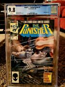 Punisher 1 Limited Series Cgc 9.8 Wp First Solo Punisher Series