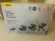 Oem New Doona Car Seat And Stroller With Latch Base - Nitro Black In Sealed Box