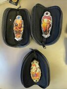 The Franklin Mint Days Of Desire By Julie And Boris Fantasy 3 Knife Collection
