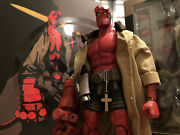 1000 Toys Hellboy 1/12 Scale Figure Bprd Authentic Japan Version