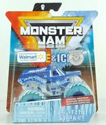 Fire And Ice Monster Jam Truck Special Edition Pack 2019 Walmart Exclusive Gift