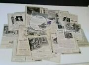 Piano Magazine Newspaper Advertising Ads 1800and039s-early 1900and039s Antique Vtg