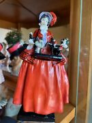Ultra Rare Royal Doulton Andldquothe Sketch Girlandrdquo Figurine Mint Issued 1923