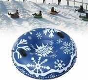 47and039and039 Inflatable Heavy Duty Snow Tube Sled Pvc Kids Adult Outdoor Sledding Winter