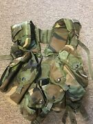 Army Green Camo Tactical Load Bearing Vest