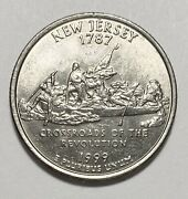 1999 New Jersey State Quarters Double Die Reverse Errors Circulated Coins 4142