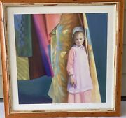 Nancy Noel Print Quilts Of Color Signed Numbered 74/350 Matted Framed 24andrdquox24andrdquo