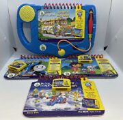 Leap Frog My First Leap Pad System With 3 Games And Books Thomas Dora Leap