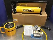Enerpac Rcs1002 Scl1002h Hydraulic Cylinder 100 Ton 10000 2andrdquo Stroke P80 Set