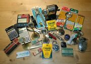 Mixed Lot Of School Office Home Teacher Classroom Supplies Retro Vintage Used