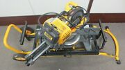 Dewalt Dhs790 Corded/cordless Compound Sliding Miter Saw W/rolling Stand Dwx726