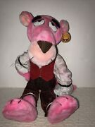Special Effects Pink Panther Plush Toy Made In Korea Vintage