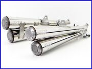 1999 Yamaha V-max And03907 Super Trap 4 Pieces Stainless Slip On Muffler Ppp