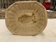 Large Antique Ironstone Pudding Mold Late 19th Century
