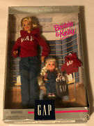 Mattel 1997 Barbie And Kelly Gap Gift Set Special Edition Collectible Dolls