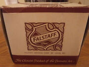 Very Rare 2 Unopened Boxes Falstaff Brewing Co. Bar 5 Napkins, Boxes 5 X 5