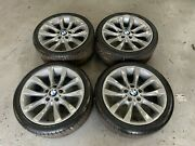 Genuine Bmw 1 Series E88 E82 18 Inch Alloy Wheels And Tires Style 217 Staggered