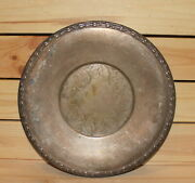 Antique Us Meadowbrook Wm. A. Rogers Silver Plated Platter