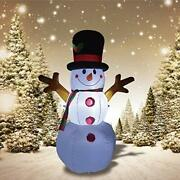Inflatable Snowman Hand Blow Up Christmas Outdoor Decoration Party Yard