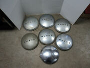 9 -early 1940and039s Buick Hubcaps