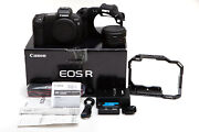 Canon Eos R Mirrorless Camera + Ef-eos R Mount Adapter And Extras Usa Model