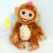 Furreal Friends Cuddles My Giggly Monkey 17 Interactive Pet Banana Bottle