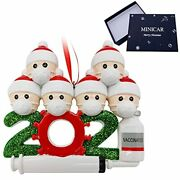 Personalized 2021 Christmas Ornaments, Customized 1-7 Family Family Of 6
